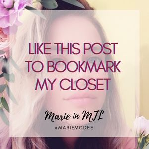 New listings in my Closet!